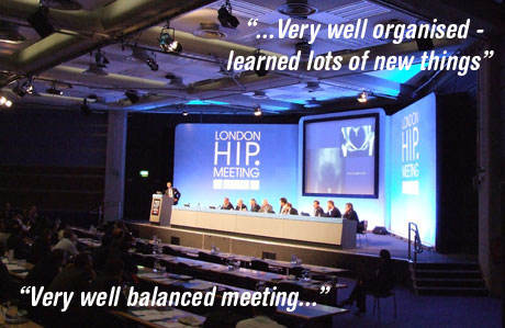 London Hip Meeting - sponsorship